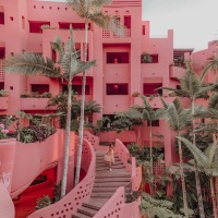 Is this the world's Most Insta-worthy Pink Hotel?