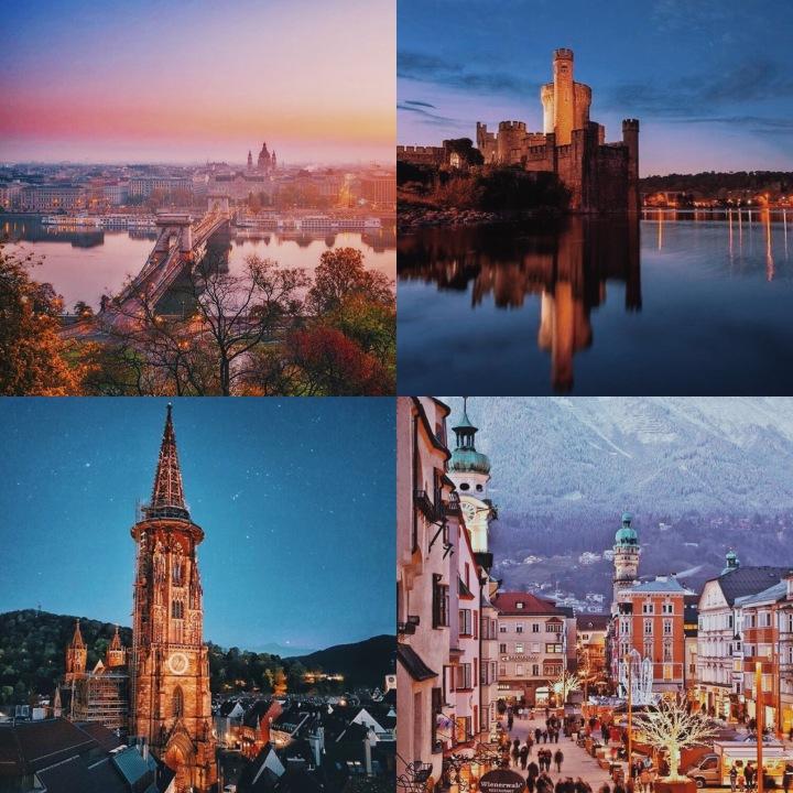 DECEMBER 2017: TOP TEN LESSER KNOWN EUROPEAN WEEKENDBREAKS